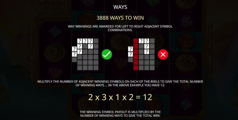 3888 Ways of Dragon Bodog88 Slot Info 4